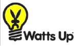 Watts Up Lighting Logo